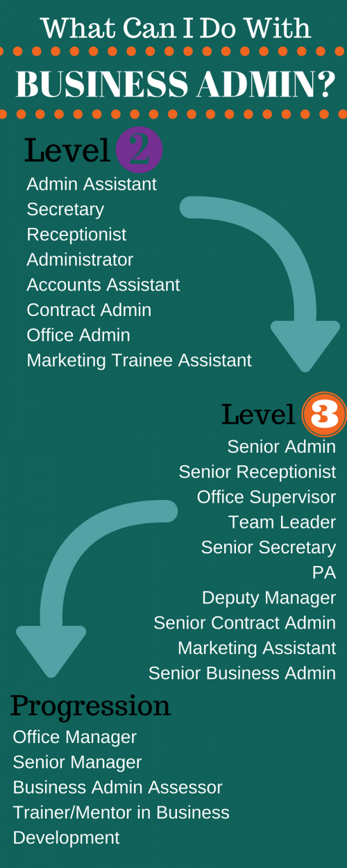 Business admin career
